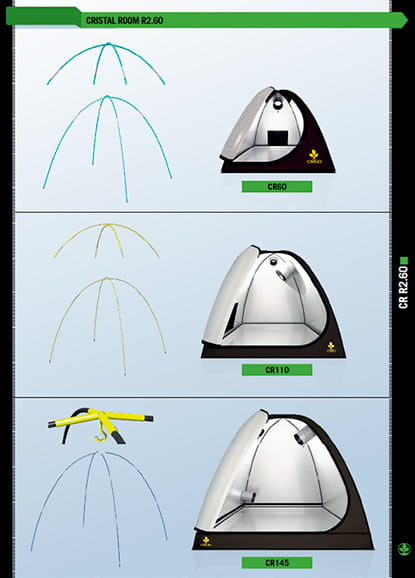Инструкция по сборке гроу тента Grow Tent Cristal Room 145x145x140 cm