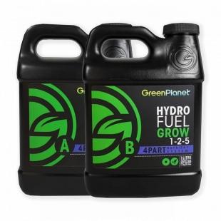 Минеральное удобрение Green Planet Hydro Fuel Grow A+B 1 литр