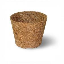 Кокосовый горшок - вкладыш d-12 см