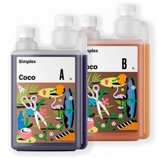 Органо-минеральное удобрение для растений Simplex Coco A + B