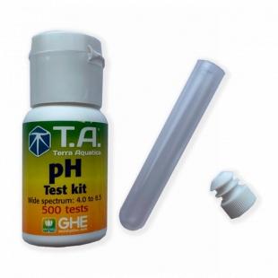 Жидкий pH тест Terra Aquatica (GHE) 30 мл
