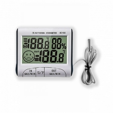 Гигрометр-Термометр белый