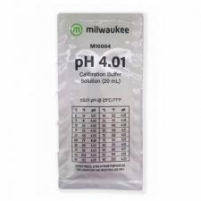 Калибровочный раствор pH 4.01 Milwaukee 20 ml